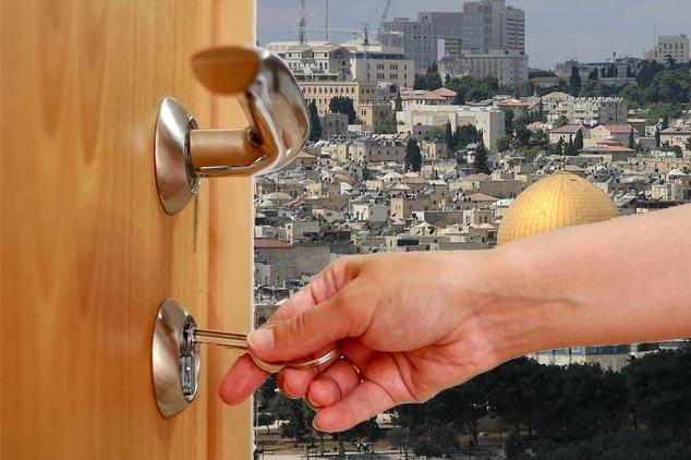 מנעולן בעיר הקודש - ירושלים
